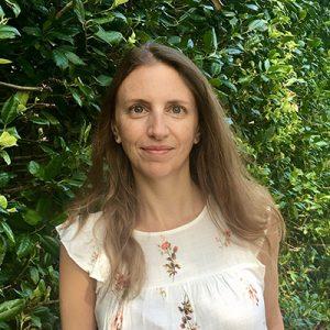 Headshot of Sandra Descourtis